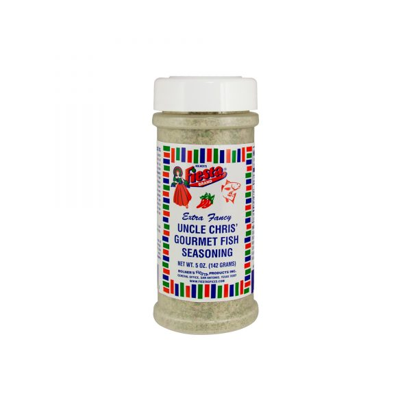 Uncle Chris Gourmet Fish Seasoning