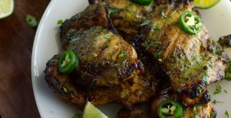 Jalapeno Chicken Thighs